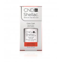 Shellac nail polish - CREAM PUFF