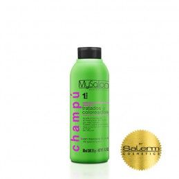 Treated/colored shampoo