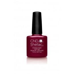 Shellac nail polish - CRIMSON SASH