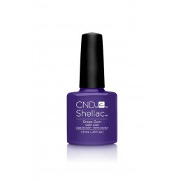 Shellac nail polish - GRAPE GUM
