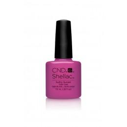 Shellac nail polish - SULTRY SUNSET